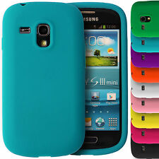 Soft Silicone Grip Rubber Gel Phone Case Cover for Samsung Galaxy S3 Mini i8190