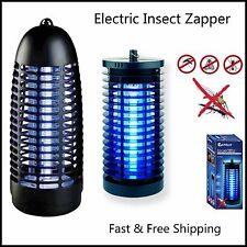 New Sansai Effective Electric Insect Fly Bug Zapper Killer UV Tube 6W Oz Stock