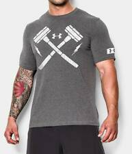 Under Armour Mens UA Combine Training, Lay the Hammer T-Shirt - NWT ALL SIZES