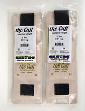 """Pair of """"The Cuff"""" Ankle Wrist Exercise Therapy Weight  by Can Do - New"""