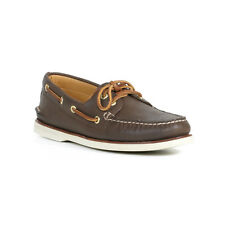 Sperry Men's Top-Sider Brown Gold Cup Authentic Original 2 Eye Boat Shoe