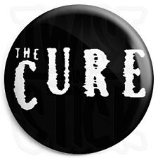 The Cure Logo - Button Badge - 25mm Goth / Emo Badges with Fridge Magnet Option