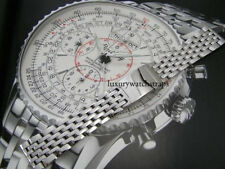 STAINLESS STEEL BRACELET STRAP FOR BREITLING AVENGER SEAWOLF COLT 20 22 24mm UK