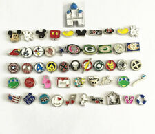 (NEW) 10 pieces floating charms lot for living charm locket you choose the style