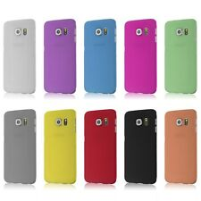 Hard Plastic Protective Back Cover Case Skin For Samsung Glaxy S6/S6 Edge