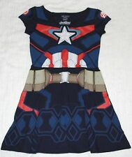 Marvel x Mighty Fine Age of ultron Captain America Lady's skirt shirt