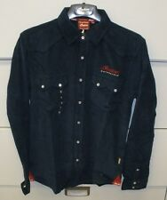Men's Indian Motorcycle Long Sleeve Pincord Shirt NWT