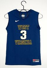 Nike Boys NCAA West Virginia (WV) #3 Navy Blue Sleeveless Jersey