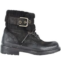 DOLCE & GABBANA RUNWAY Winter Boots Shoes Brown Bottes Chaussures Brun 02919
