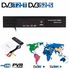 Full HD Digital DVB-S2 DVB-T2 Combo Terrestrial Satellite Receiver TV BOX USALS