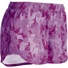 Champion GEAR Women's Woven Printed Running Shorts With Briefs