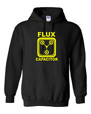 Back to the future flux capacitor hoody retro