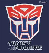 TRANSFORMERS LOGO COTTON T-SHIRT - AUTHENTIC LICENSED PRODUCT