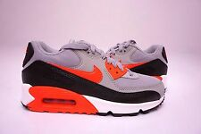 (616730-014) WOMEN'S NIKE AIR MAX 90 ESSENTIAL WOLF GREY/INFRARED/BLACK/WHITE