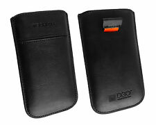 Tech 21 Nappa Genuine Leather Slide in Phone Case Cover Pouch Sleeve Retail Pack