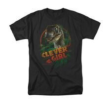 JURRASIC PARK CLEVER GIRL Officially Licensed Men's Graphic Tee Shirt SM-5XL