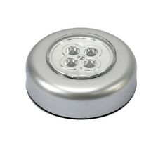 4-LED Battery Powered Stick Tap Touch Lamp Wall Light For Kitchen Cabinet Closet