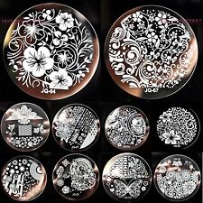 Nail Art Image Stamp Stamping Plates Manicure Template DIY Tools Charming Vines