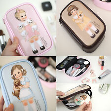 Afrocat Paper Doll Mate Make Up Pouch New S Cosmetic Travel Organizer Case Bag