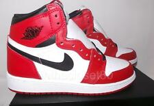 Nike Air Jordan 1 Retro Hi Chicago OG BG GS White Black Red Bred 575441-101