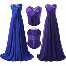 Cheap~ Long Prom Dress Ball Gown Cocktail Party Bridesmaid Wedding Evening Dress