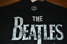 The Beatles Logo Style Adult T-Shirt Officially Licensed Tee