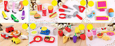 NOVELTY FOOD FRUIT CHILD RUBBERS ERASER STATIONERY KIDS GIFT SETS FOR PARTY BAGS