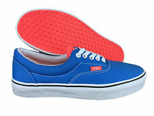 VANS. Era. Two Tone. Neon Blue / Neon Coral. Unisex. Mens US Size 8.5.