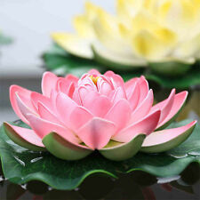 Garden Large Water Lily Artificial Flower for Floor Decorative Crafts Pond