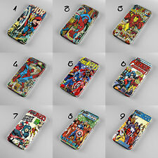 SPIDERMAN AVENGERS MARVEL COMICS 3D PHONE CASE COVER FOR IPHONE OR SAMSUNG