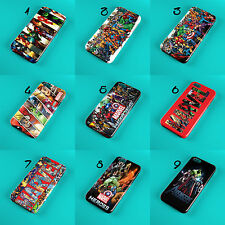 AVENGERS MARVEL HEROES 3D FULLY WRAPPED PHONE CASE COVER FOR IPHONE OR SAMSUNG