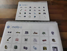 ~PRINTED~ MotorolaMoto e User guide Instruction manual  Full Colour