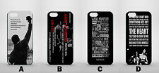 ROCKY Balboa Movie preventivi IPHONE4 4S 5 5S 5C 6 GLOSSY CASE COVER