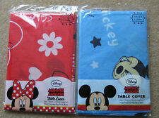 New, Disney Minnie or Mickey Mouse Party Table Cover Table Cloth
