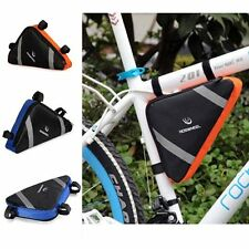 ROSWHEEL Tripod Cycling Tools Kit Bag Bicycle Tube Pannier Bike Triangle Pouch