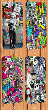 "Full Wrap Graffiti Design ""Love Is The Answer"" for iPhone And Samsung Hard Case"