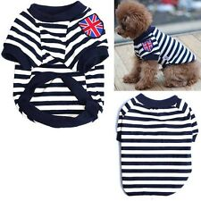 Cute Pet Puppy Small Dog Cat Coat Sweater Clothes Costume Jacket T-shirt XS-XL