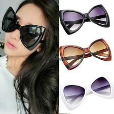 Women Sunglasses Bowknot Frame Big Lens Eyewear Shades Glasses Oversized UV400 W