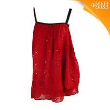 New Ladies Plus Size Autograph Red Evening Wear Top, Cami, Chiffo, Sizes 14-26
