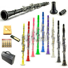 New SKY Bb Clarinet Package German Style Nickle Silver Keys Multiple Colors
