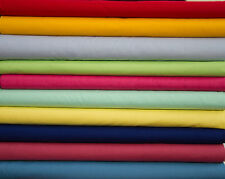 COTTON POLYESTER BROADCLOTH FABRICS BY THE YARD