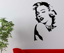 Marilyn Monroe Sticker Sex Symbol Filmstar Actress wall decal- 1T142_1