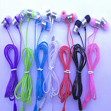 3.5mm Stereo In-ear Headset Earbuds Headphone Earphone With Mic for Mobile Phone