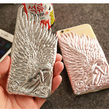 """3D new cute hot Luxury Angel Wings back case cover for apple iphone6 plus 4.7"""""""
