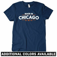 Made In Chicago V2 Women's T-shirt - Chi-Town Windy City Girl Ladies - S to 2XL