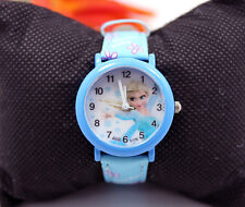 New Cute cartoon Frozen Princess Quartz fashion children Kids Girl Wrist Watch