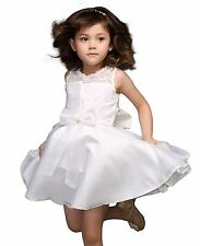 Lace Princess Flower Girls Dress Kids Pageant Wedding Bridesmaid Party Dresses