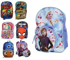 "16"" Teens Girls Boys School Backpack with Detachable Lunch Box Set"