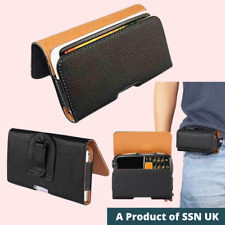 PU Leather Belt/Hook Pouches Case for Mobile Phone PDA IPod / Belt Loop Case HZT