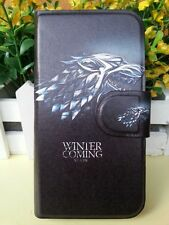 Game of Thrones Stark Monster PU Leather Flip Case Cover For Samsung